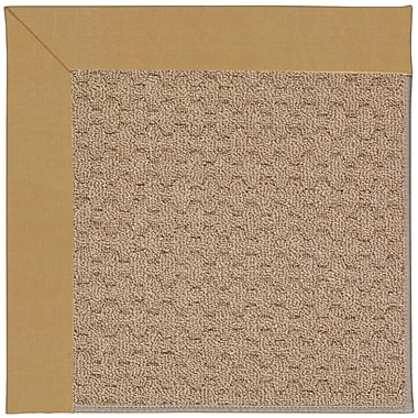 Capel Zoe Grassy Mountain Machine Tufted Bronze/Brown Indoor/Outdoor Area Rug; Square 8'
