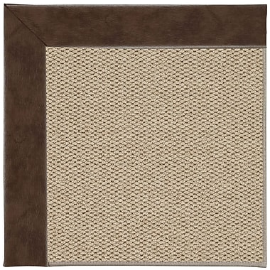 Capel Inspirit Champagne Machine Tufted Burgundy/Brown Area Rug; Rectangle 12' x 15'