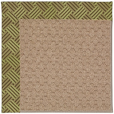 Capel Zoe Grassy Mountain Machine Tufted Mossy Green and Beige Indoor/Outdoor Area Rug