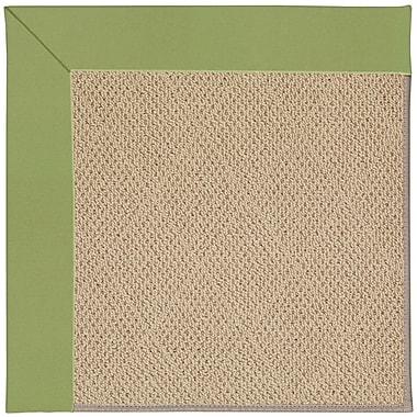 Capel Zoe Machine Tufted Green/Brown Indoor/Outdoor Area Rug; Rectangle 2' x 3'