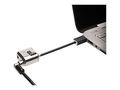 Kensington MiniSaver Mobile Cable Lock, Black (K67890WW)