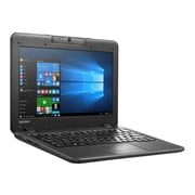"Lenovo® IdeaPad N22 11.6"" Notebook, LCD, Intel Celeron N3050, 32GB, 2GB, Windows 10 Pro, Black"