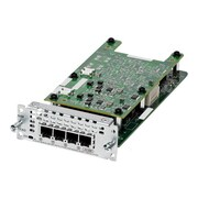 Cisco™ Network Interface Card, 4 x FXO Port (NIM-4FXO=)