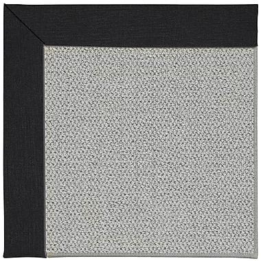 Capel Inspirit Machine Tufted Ebony Area Rug; Rectangle 5' x 8'