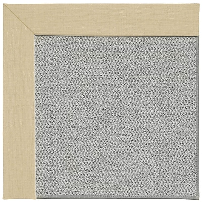 Capel Inspirit Silver Machine Tufted Ivory/Gray Area Rug; Rectangle 8' x 10'