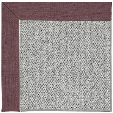 Capel Inspirit Machine Tufted Bluebell/Gray Area Rug; Square 4'