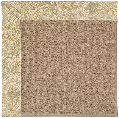 Capel Zoe Grassy Mountain Machine Tufted Quarry Indoor/Outdoor Area Rug; Rectangle 4' x 6'