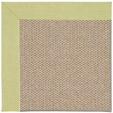 Capel Inspirit Champagne Machine Tufted Light Green/Beige Area Rug; Rectangle 2' x 3'