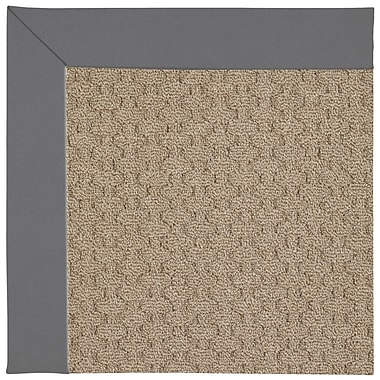 Capel Zoe Grassy Mountain Machine Tufted Ash Indoor/Outdoor Area Rug; Rectangle 3' x 5'