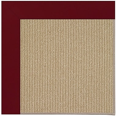 Capel Zoe Brown Indoor/Outdoor Area Rug; Square 6'