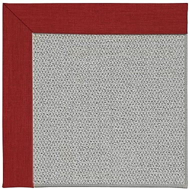 Capel Inspirit Silver Machine Tufted Apple Red/Brown Area Rug; Rectangle 7' x 9'