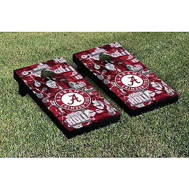 Victory Tailgate NCAA FIght Song Version Cornhole Game Set; North Carolina State NC State Wolfpack