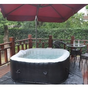 "57"" Square Inflatable Hot Tub"