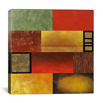 iCanvas 'Brick Nature' by Pablo Esateban Graphic Art on Canvas; 26'' H x 26'' W x 0.75'' D