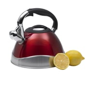 Creative Home Crescendo 3.1-qt. Whistle Tea Kettle; Cranberry