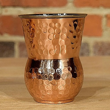 William Sheppee Connaught Tumbler (Set of 4); Hammered Copper