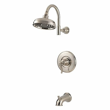 Pfister Ashfield Single Handle Tub and Shower Trim w/ Select; Brushed Nickel