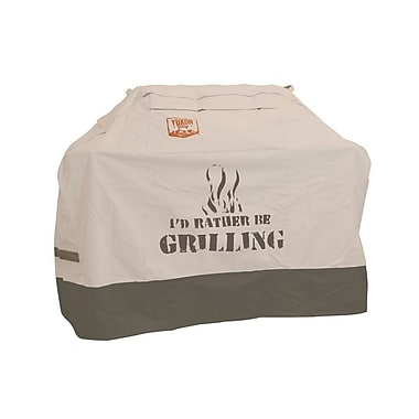 Yukon Glory Small Universal ''I'd Rather be Grilling'' Grill Cover - Fits up to 58''