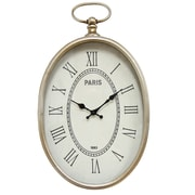 Stratton Home Decor Elegant Wall Clock