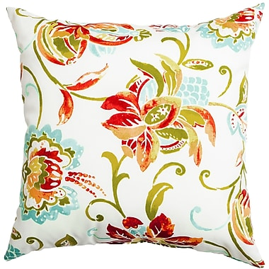 Softline Home Fashions Sunline Jean Decorative Indoor/Outdoor Throw Pillow