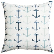Softline Home Fashions Sunline Anchors Decorative Indoor/Outdoor Throw Pillow