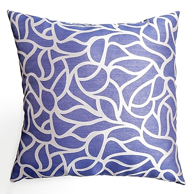Softline Home Fashions Basra Throw Pillow; Blue Violet