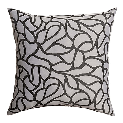 Softline Home Fashions Basra Throw Pillow; Charcoal