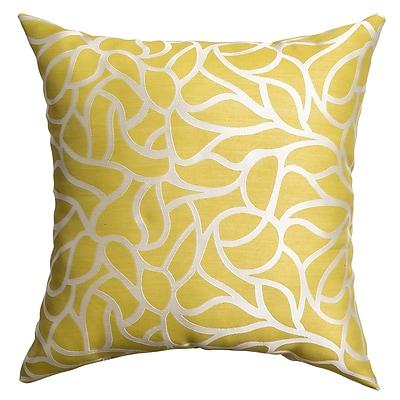 Softline Home Fashions Basra Throw Pillow; Citrus