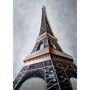 HDC International 3D Eiffel Tower Graphic Art on Wrapped Canvas