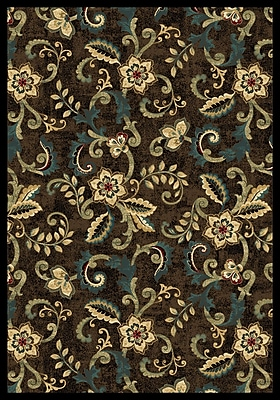 Wildon Home Cayce Brown Area Rug; Rectangle 7'10'' x 10'10''