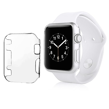 Insten Sport Edition Slim Thin Snap On Hard Clear Protective Case For Apple Watch 38mm (2117819)