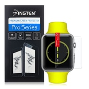 Insten Clear Transparent Screen Protector LCD Guard Shield For Apple Watch 42mm (2076197)