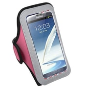 Insten Vertical Pouch Sport Armband for iPhone 4 5 6 6+ HTC One M8 Nexus 4 5 Motorola Samsung Galaxy Note 3 4 S4 S5, Pink