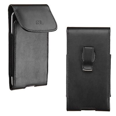 Insten Vertical Leather Case with 360 Clip for Motorola Nexus 6 / Samsung Galaxy Note 4 Mega 2 / iPhone 6 Plus 5.5