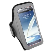 Insten Sports Armband Case for iPhone 6 6+ 6S Plus / Samsung Galaxy Note 4 3 /Motorola Google Nexus 6 / ZTE Zmax, Gray