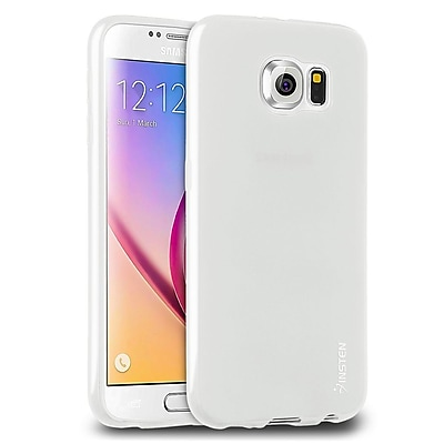 Insten Ultra Slim TPU Soft Rubber Gel Case Cover for Samsung Galaxy S6, Frost Clear 2117128
