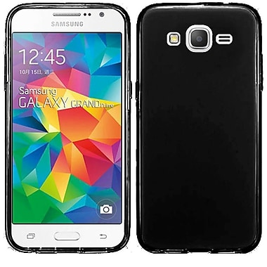 Insten Frosted Gel Cover Case For Samsung Galaxy Grand Prime, Black (2112853)