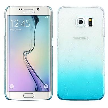 Insten Waterdrop Hard Crystal Case for Samsung Galaxy S6 Edge, Clear/Blue