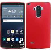 Insten Frosted TPU Gel Case for LG G Stylo, Red
