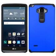Insten Hard Hybrid Rugged Shockproof Rubber Coated Silicone Case for LG G Stylo, Blue/Black