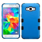 Insten Tuff Hard Hybrid Rugged Shockproof Rubber Silicone Case for Samsung Galaxy Grand Prime, Blue/Black
