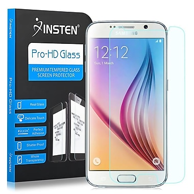 Insten Tempered Glass Screen Protector LCD Guard Shield For Samsung Galaxy S6 G920 (2076192)