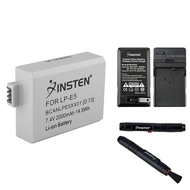 Insten® LP-E5 Battery, Battery Charger and Pen Kit for Canon EOS REBEL XS(313989)