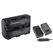 Insten 2-Pack Battery + Charger for Sony NP-FM50 NP-FM30 DSC-S30 DSC-S85 DSC-F707 F717