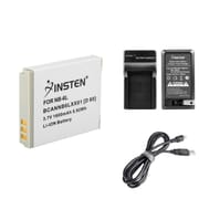 Insten Battery + Charger + USB Cable for Canon NB-6L IXUS 310 300 HS