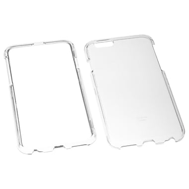 Insten Hard Snap On Crystal Cover Case For Apple iPhone 6, Clear (1952472)