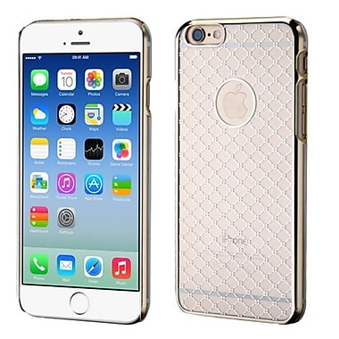 Insten Hard Rubber Coated Case For Apple iPhone 6, Clear (2045843)