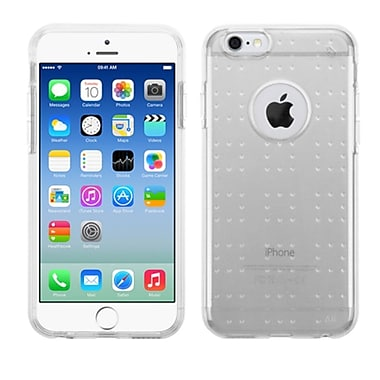 Insten TPU Rubber Candy Skin Case Cover For Apple iPhone 6, Clear (2101451)