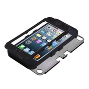 Insten Rubberized Tuff Hybrid Hard Shockproof Phone Case for Apple iPod touch 5th 6th Gen 5 6, Black