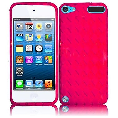 Insten TPU Gel Case For Apple iPod Touch 6 6G 6th/5 5G 5th, Hot Pink (1507995)